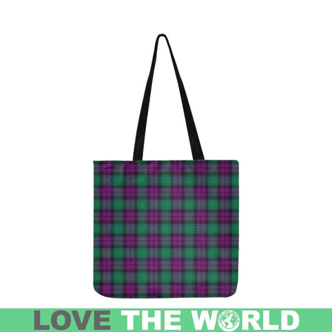 Macarthur Milton Tartan Reusable Shopping Bag - Hb1 Reusable Shopping Bag Model 1660 (Two Sides)