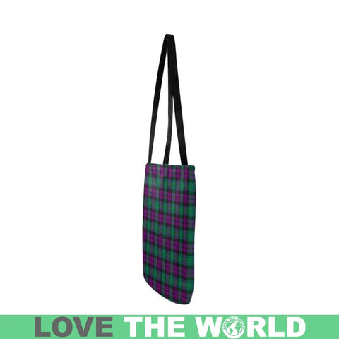 Image of Macarthur Milton Tartan Reusable Shopping Bag - Hb1 Reusable Shopping Bag Model 1660 (Two Sides)