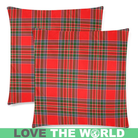 Macbean Modern Tartan Pillow Case Hj4 One Size / Macbean Modern Custom Zippered Pillow Case