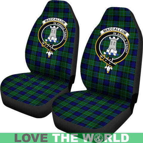 Maccallum Clan Badges Tartan Car Seat Cover Ha5