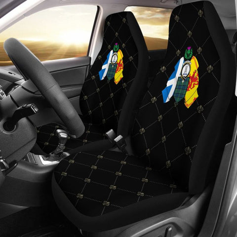 Maccallum Coat Of Arms Car Seat Covers Dt8