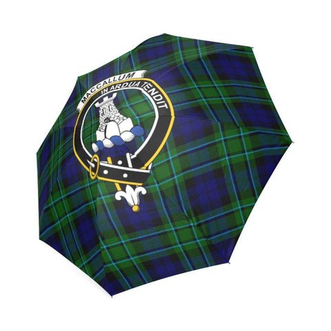 Maccallum Tartan Clan Badge Foldable Umbrella Th8 |Accessories| 1sttheworld