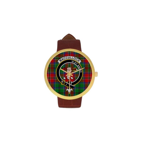 Macculloch Clan Badge Tartan Watch