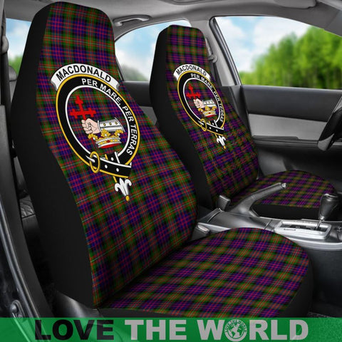 Macdonald Clan Badges Tartan Car Seat Cover Ha5