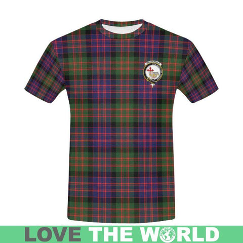 Image of Tartan T-shirt - Macdonald Clan | Over 500 Tartans and 300 Clans | Love Scotland