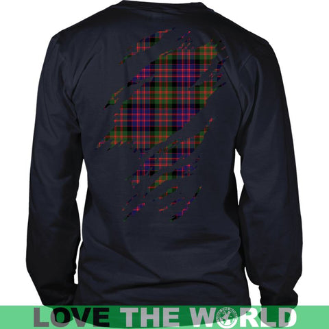 Image of Macdonald Tartan Shirt And Tartan Hoodie In Me
