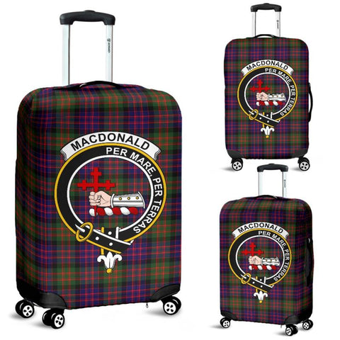 Macdonald Of Sleat Tartan Clan Badge Luggage Cover Hj4 | Love The World