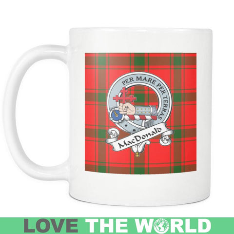 Macdonald Of Sleat Tartan Mug Ha4 N4 Mugs
