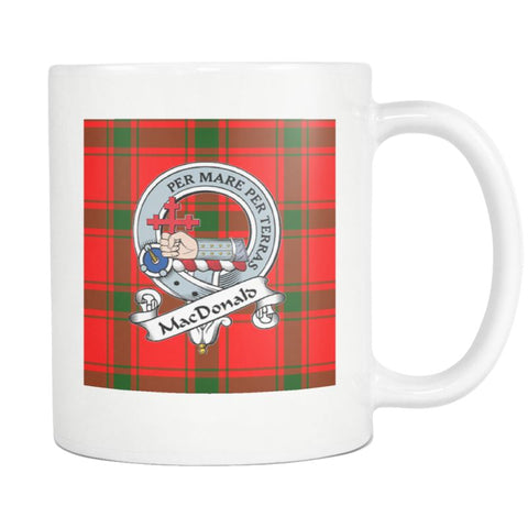 Image of Macdonald Of Sleat Tartan Mug Ha4 N4 Mugs