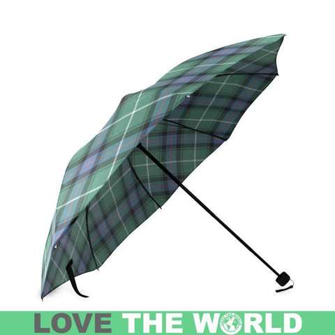 Macdonald Of The Isles Hunting Ancient Tartan Foldable Umbrella Th8 |Accessories| 1sttheworld