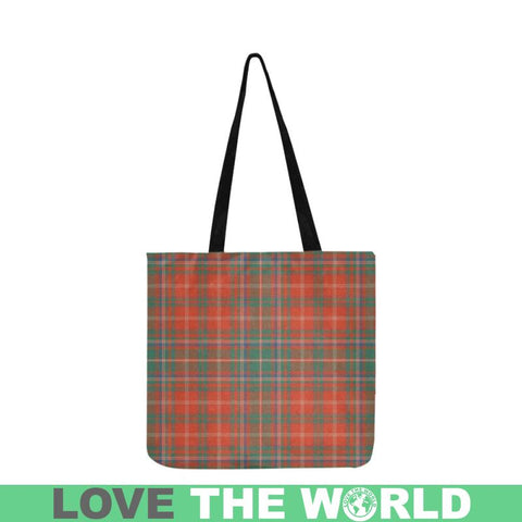 Macdougall Ancient Tartan Reusable Shopping Bag - Hb1 Reusable Shopping Bag Model 1660 (Two Sides)