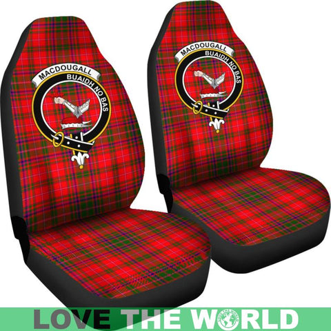 Macdougall Clan Badges Tartan Car Seat Cover Ha5