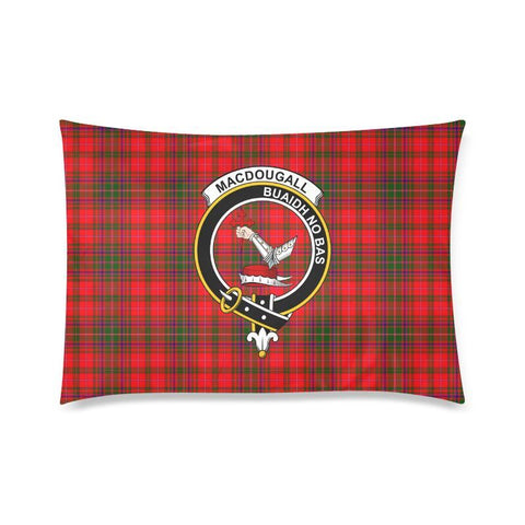 Macdougall Tartan Clan Badge Rectangle Pillow Hj4 One Size / Macdougall Custom Zippered Pillow Cases