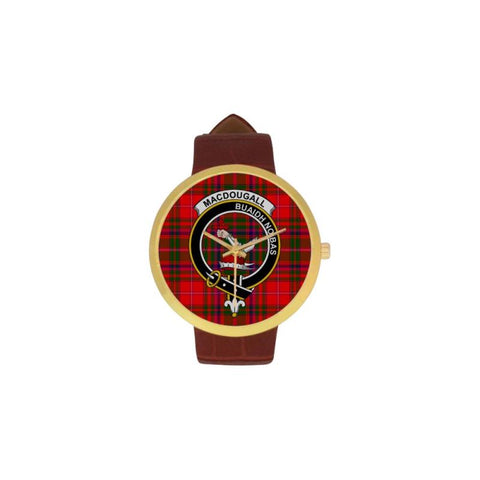 Macdougall Clan Badge Tartan Watch