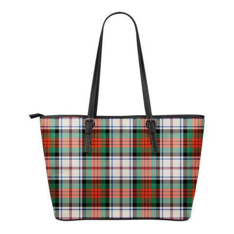 Macduff (Mcduff) Dress Ancient  Tartan Handbag - Tartan Small Leather Tote Bag Nn5 |Bags| Love The World