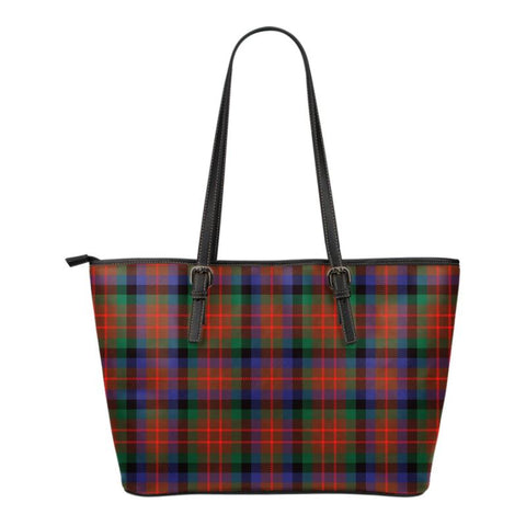 Macduff (Mcduff) Hunting Modern  Tartan Handbag - Tartan Small Leather Tote Bag Nn5 |Bags| Love The World