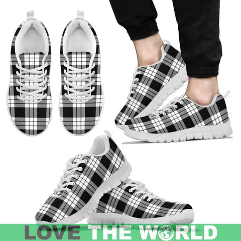 Macfarlane Black & White Tartan Sneakers - Bn Mens Sneakers Black 1 / Us5 (Eu38)