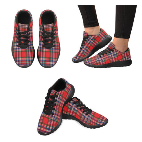 Macfarlane Modern Tartan Running Shoes Hj4 Us6 / Macfarlane Modern Black Womens Running Shoes (Model