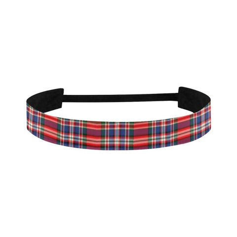 Image of Macfarlane Modern Tartan Sports Headband | 1sttheworld.com