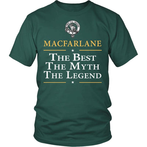 Macfarlane The Best N6 District Unisex Shirt / Dark Green S T-Shirts