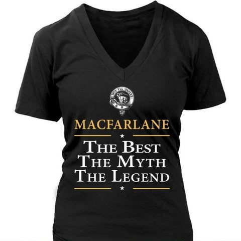 Image of Macfarlane The Best N6 District Unisex Shirt / Dark Green S T-Shirts