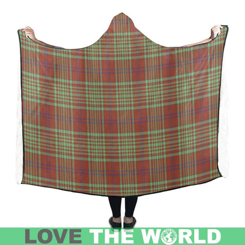 Macgillivray Hunting Ancient Hooded Blanket - M | Love The World