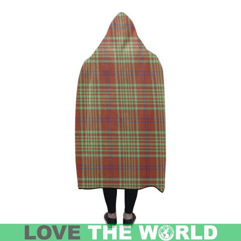 Image of Macgillivray Hunting Ancient Hooded Blanket - M | Love The World