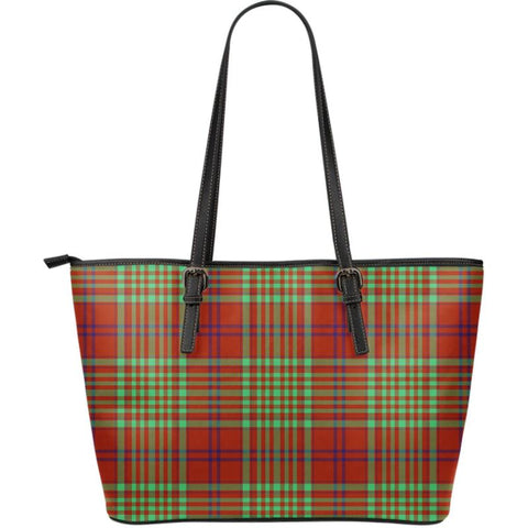 Macgillivray (Mcgillivray) Hunting Ancient Tartan Handbag - Large Leather Tartan Bag Th8 |Bags| Love The World