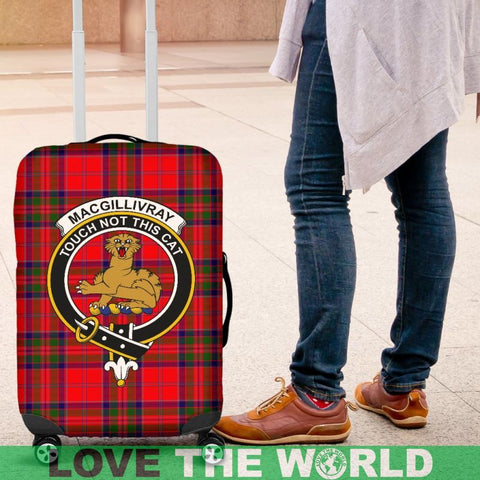 Macgillivray Tartan Clan Badge Luggage Cover Hj4 | Love The World