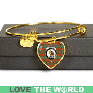 Macgregor Ancient Tartan Golden Bangle - BN