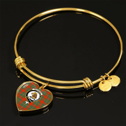 Macgregor Ancient Tartan Golden Bangle - Tn Jewelries