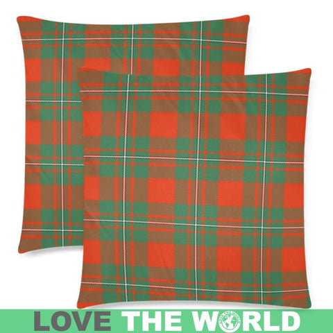 Macgregor Ancient Tartan Pillow Cases Hj4 One Size / Macgregor Ancient Back Custom Zippered Pillow