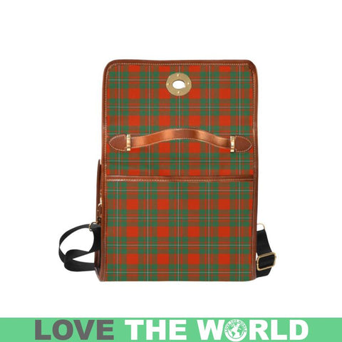 Macgregor Ancient Tartan Canvas Bag | Waterproof Bag | Scottish Bag