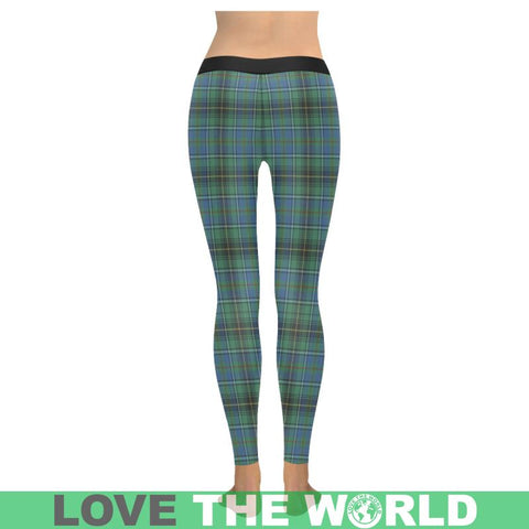 Image of Macinnes Ancient Tartan Legging S1 Low Rise Leggings