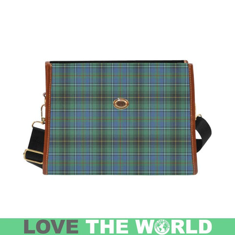 Image of Macinnes Ancient Tartan Canvas Bag | Waterproof Bag | Scottish Bag