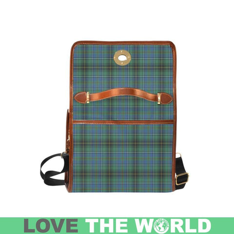 Macinnes Ancient Tartan Canvas Bag | Waterproof Bag | Scottish Bag