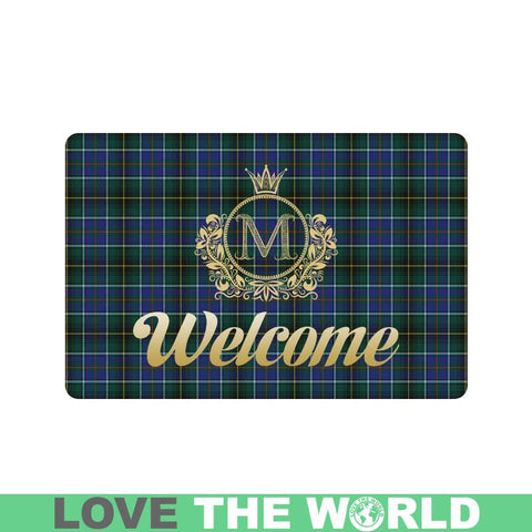 Macinnes Modern Tartan Doormat HJ4 |Home Set| Love The World