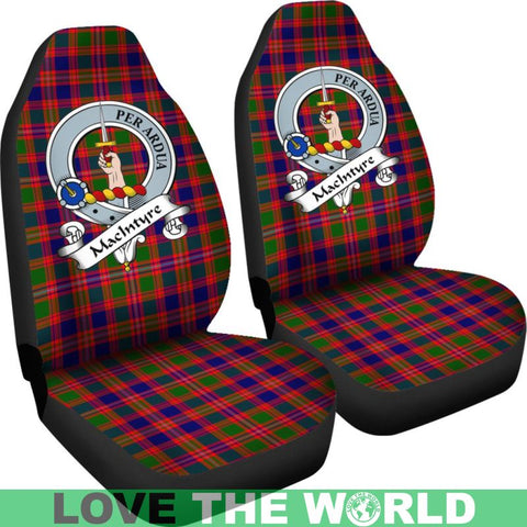 Macintyre Clan Badges Tartan Car Seat Cover Ha5