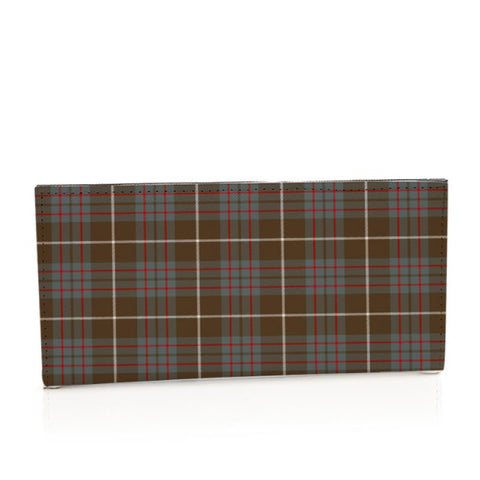 Macintyre Hunting Weathered Tartan Long Leather Wallet S1 Style-1 Bifold Wallets