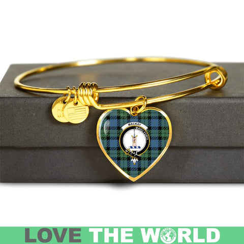 Mackay Ancient Tartan Golden Bangle - Tn Jewelries