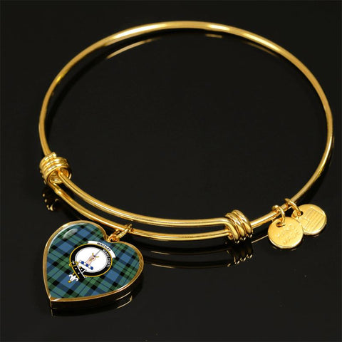 Image of Mackay Ancient Tartan Golden Bangle - Tn Jewelries