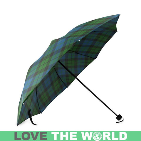 Image of Mackay Tartan Clan Badge Foldable Umbrella Th8 |Accessories| 1sttheworld