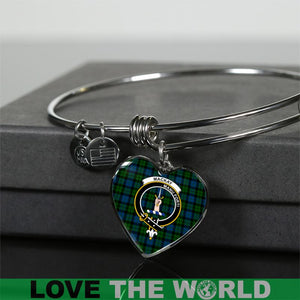 Mackay Tartan Silver Bangle - BN