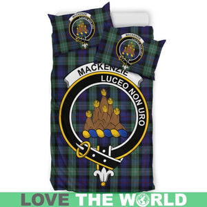 Mackenzie Clan Badge Tartan Bedding Set K5
