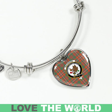 Mackinnon Ancient Tartan Silver Bangle - Sd1 Luxury Bangle (Silver) Jewelries