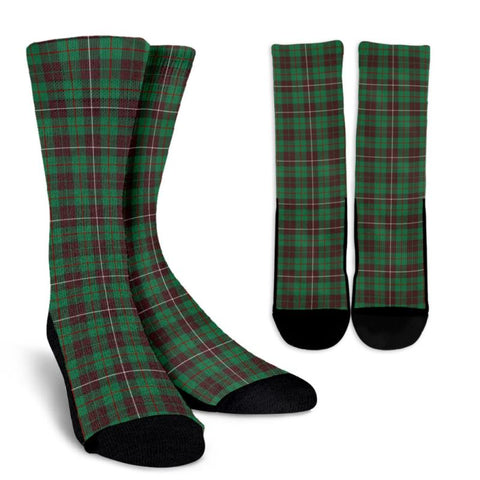 Mackinnon Hunting Ancient Tartan Socks, scotland socks, scottish socks, Xmas, Christmas, Gift Christmas, noel, christmas gift, tartan socks, clan socks, crew socks, warm socks