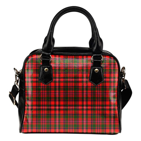 Mackinnon Modern Tartan Shoulder Handbag - Bn Handbags