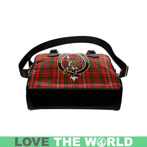 Mackinnon Modern Tartan Shoulder Handbag - Bn Pu Handbags