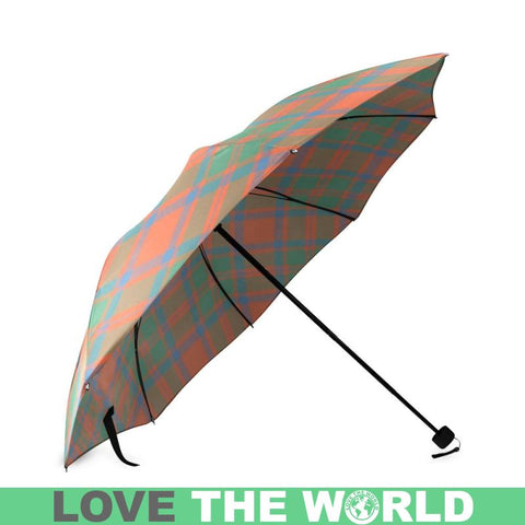 Mackintosh Ancient Tartan Foldable Umbrella Th8 |Accessories| 1sttheworld