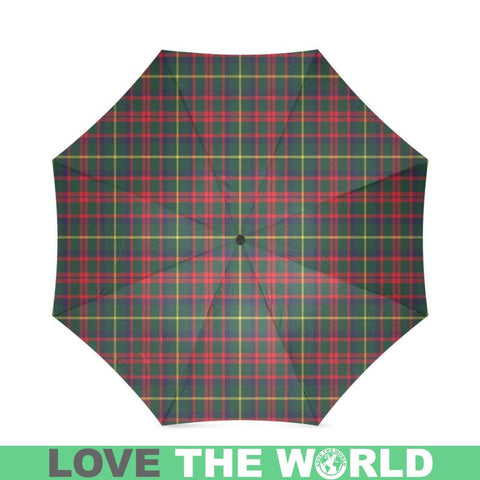 Mackintosh Hunting Modern Tartan Foldable Umbrella Th8 |Accessories| 1sttheworld
